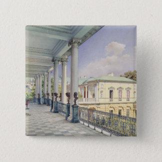 Det Cameron gallerit på Tsarskoye Selo, 1859 Standard Kanpp Fyrkantig 5.1 Cm