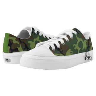 Det Camo mönster skor
