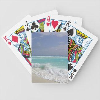 Det Cancun hav vinkar leka kort Spelkort