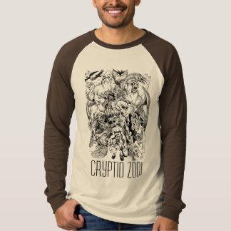Det Cryptid Zoomonster Mosar-upp utslagsplatsen Tee Shirt