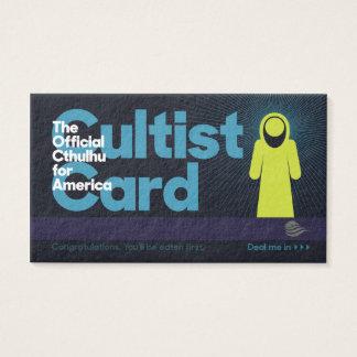 Det Cthulhu Cultistkortet Visitkort