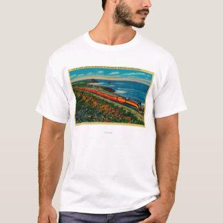 Det dagsljus begränsade tåg på Kalifornien T-shirts
