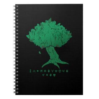 Det DAoC Hibernia träd och klassificerar Anteckningsbok Med Spiral