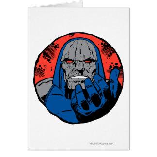 Det Darkseid huvudet sköt 2 Hälsningskort