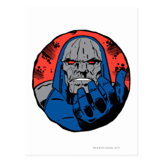 Det Darkseid huvudet sköt 2 Vykort