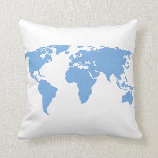Det dekorativa världskast kudder kudde