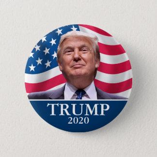 Det Donald Trump fotoet - presidenten 2020 - nog Standard Knapp Rund 5.7 Cm