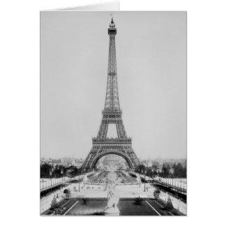 Det Eiffel torn 2 Hälsningskort