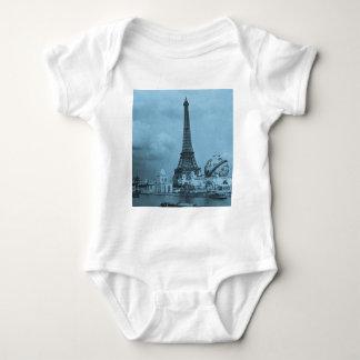 Det Eiffel torn från Seinen Paris 1900 Tee