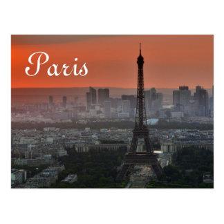 Det Eiffel torn Paris Europa reser Vykort