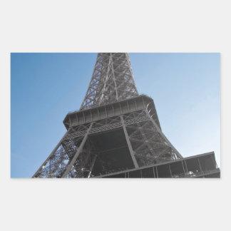 Det Eiffel torn Rektangulärt Klistermärke