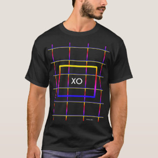 Det elektriska kärlekfält XO kramar & kysser Tee
