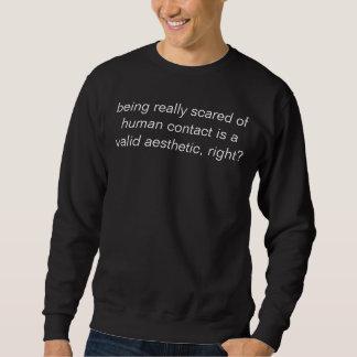 det estetiskt av skräck sweatshirt