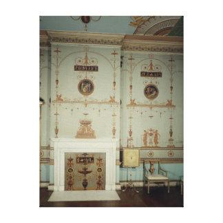 Det Etruscan rummet, Osterley parkerar, Middlesex Canvastryck