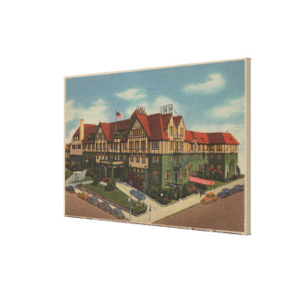 Det Eureka gästgivargårdhotellet beskådar i Eureka Canvastryck