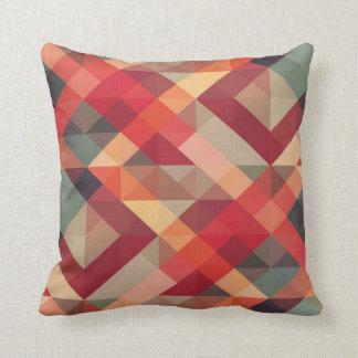 Det färgglada geometriska mönster kudder kudde