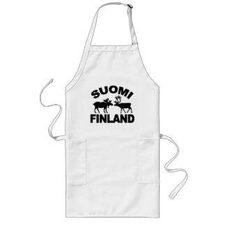 Det Finland älg- & renförklädet - välj stil Långt Förkläde