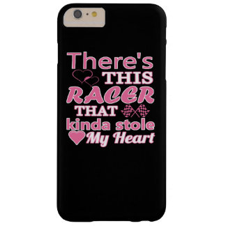 Det finns denna racer som stal min hjärta barely there iPhone 6 plus skal