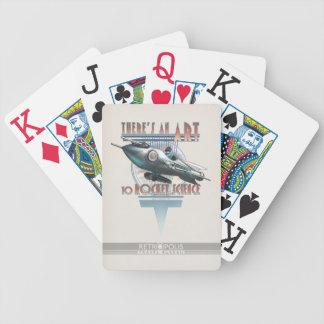 Det finns en konst som flyger vetenskap som leker  spelkort