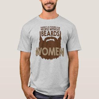 det finns ett namn för folk utan skägg, kvinna! t shirt
