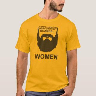 Det finns ett namn för folk utan skägg…, KVINNOR Tee Shirts