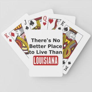 Det finns inte någon bättre bostad än Louisiana Kortlek