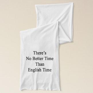Det finns inte någon bättre Time, än engelska Sjal
