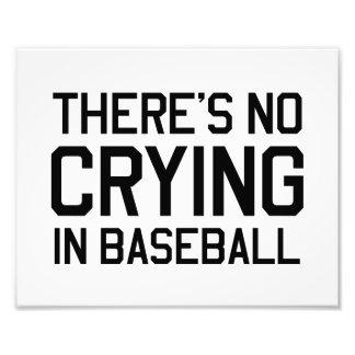 Det finns inte någon gråt i baseball foto
