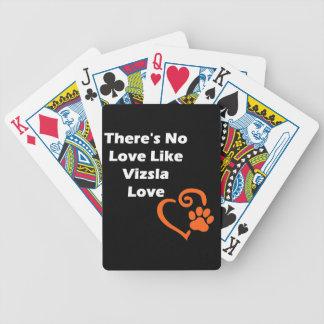 Det finns inte någon kärleknågot liknandeVizsla Spelkort