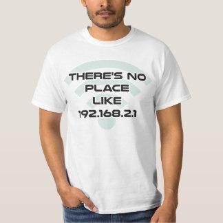 Det finns inte något IP address för ställenågot Tee Shirt