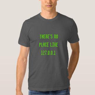 Det finns inte något ställenågot liknande127.0.0.1 t-shirt
