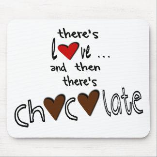 Det finns kärlek. Och därefter finns det choklad Musmatta
