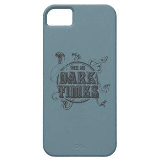 Det finns mörka tider iPhone 5 cover