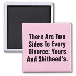 Det finns två sidor till varje skilsmässa… magnet