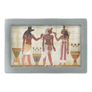 Det forntida egyptiska designbältet spänner fast