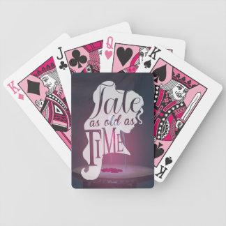 Det förtrollat steg den | sagan som så var gammal spelkort