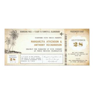 det gammala logiet passerar 10,2 x 23,5 cm inbjudningskort