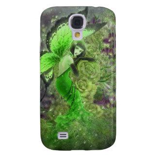 Det gröna livliga fodral för fe HTC Galaxy S4 Fodral