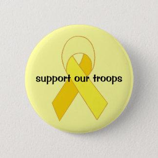 det gula bandet knäppas standard knapp rund 5.7 cm