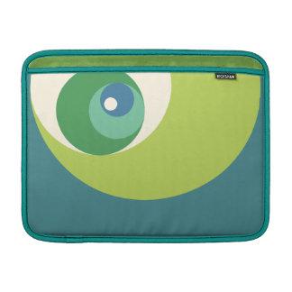 Det guld- förhållandet cirklar (grönt) MacBook air sleeve