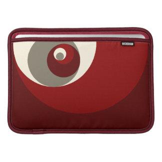 Det guld- förhållandet cirklar (rött) MacBook sleeve