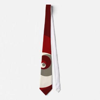 Det guld- förhållandet cirklar (rött) slips