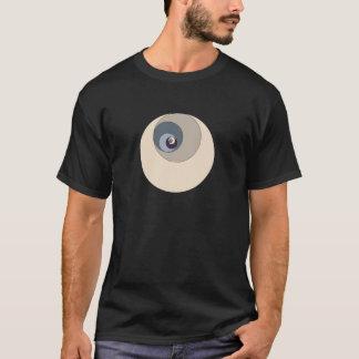 Det guld- förhållandet cirklar t shirts