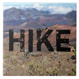 Det Haleakala fotoet belägger med tegel Kakelplatta