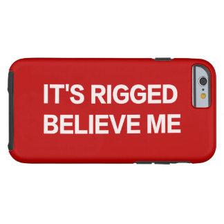 Det har rigged, tror mig (RÖD trumf) - Tough iPhone 6 Skal