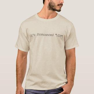 Det har uttalat JIF - utslagsplatsskjorta Tee Shirt