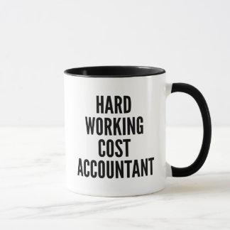 Det hårda arbetet kostar revisorn mugg