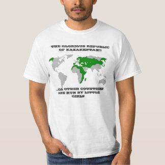 Det härliga Republicet of Kazakhstan Tröja