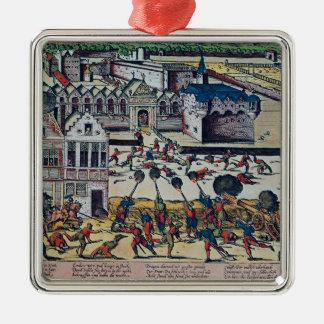 Det Haultepenne raseriet i 1581 Julgransprydnad Metall