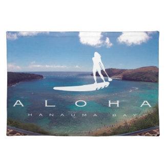 Det Hawaii stativ paddlar upp Bordstablett